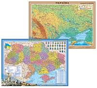 Карти стінні